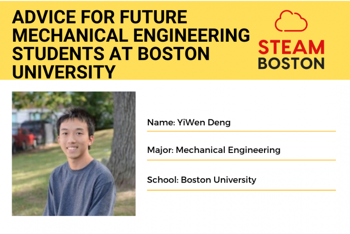 YiWen Deng Steam boston