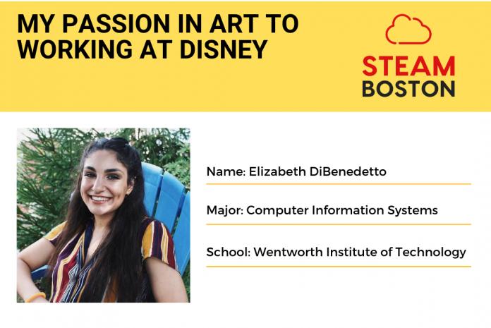 Elizabeth DiBenedetto Steam boston